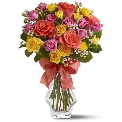 Букеты из цветов для детей
